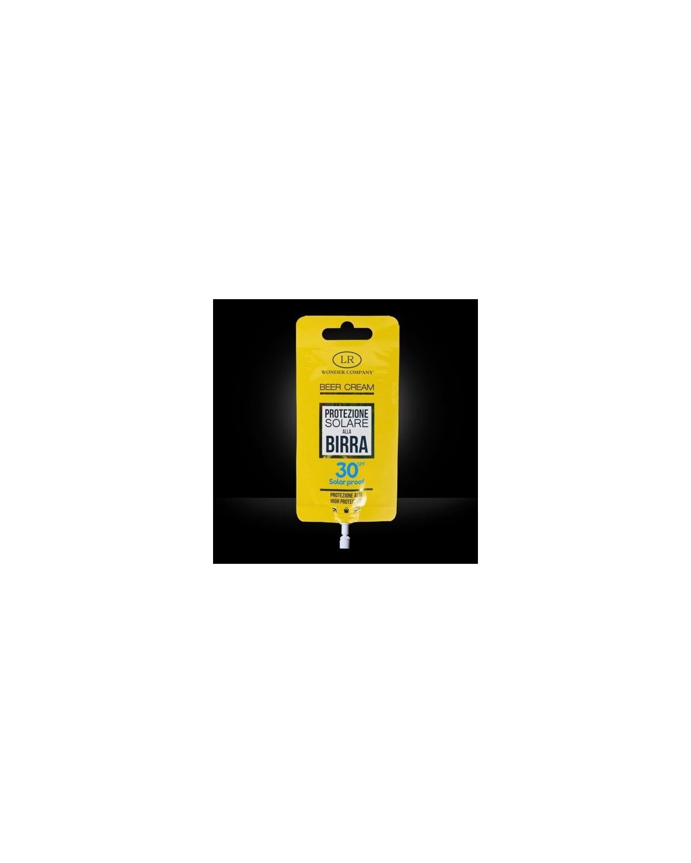 Super Abbronzante alla Birra LR WONDER COMPANY Viso/Corpo protezione 30 SPF 15 ml