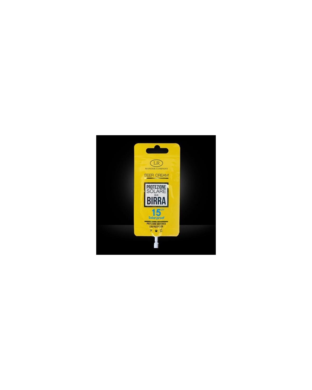 Super Abbronzante alla Birra LR WONDER COMPANY Viso/Corpo protezione 15 SPF 15 ml