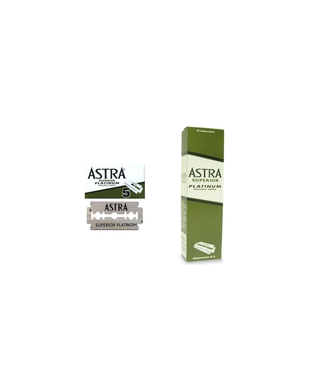 Lame da barba Astra Superior Platinum confezione da 100 pz
