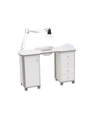 Tavolino manicure per centri estetici  mod. nat t able