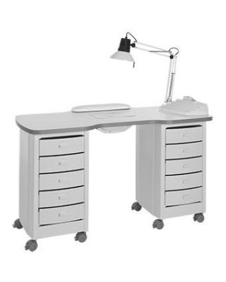 Tavolino manicure per centri estetici  mod. Omar 2