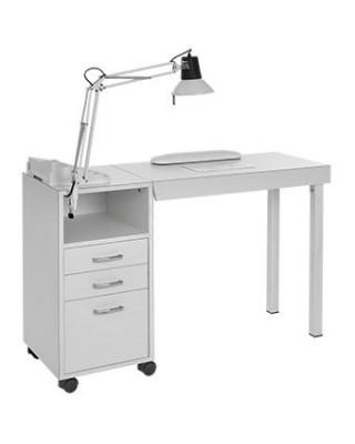 Tavolino manicure per centri estetici pieghevole mod. Astro 2