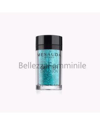 Glitter per unghie color Argento 6g