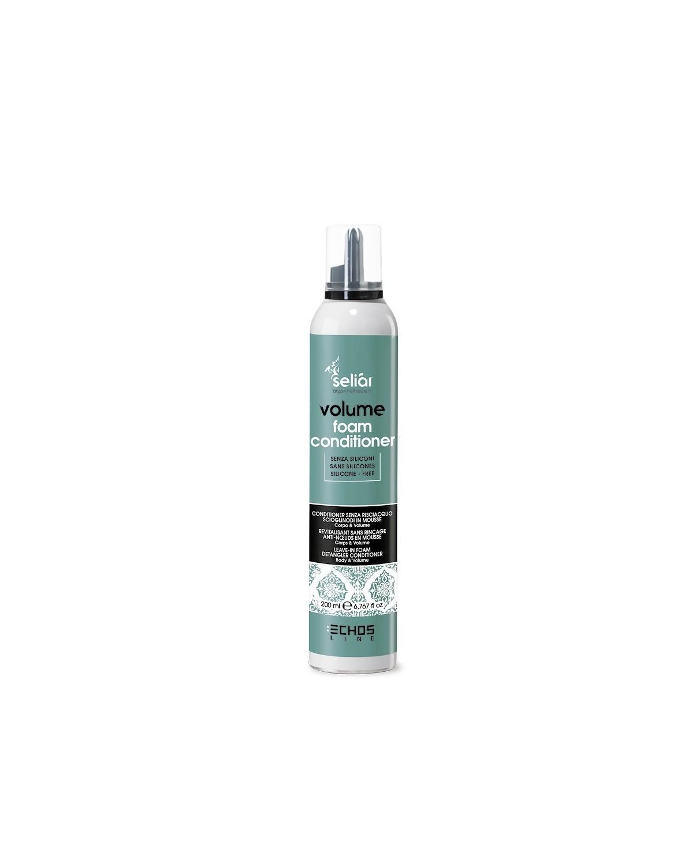 dizionatore senza risciacquo scioglinodi in mousse per capelli fini e senza tono 200 ml Seliar