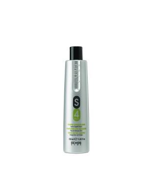 Shampoo seboregolatore S4 Plus cute e capelli grassi 350 ml Echosline