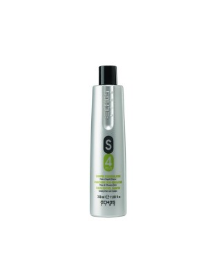 Shampoo seboregolatore S4 Plus cute e capelli grassi 350 ml Echosline