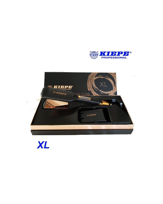 Piastra capelli Kiepe Pure Rose Gold professionale liascio-riccio perfetto Misura XL