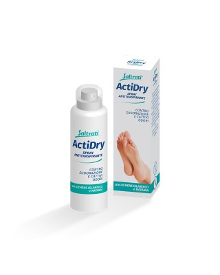 Saltrati ActiDry Antiperspirant spray to prevent sweating and bad odors 100ml