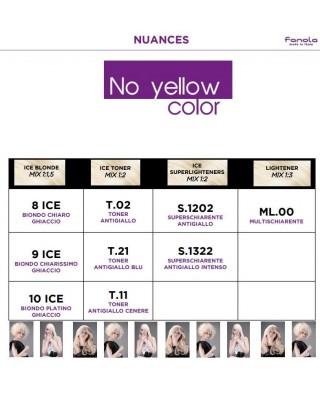 Tinta Crema Colorante Azione Antigiallo No Yellow Color - Fenola