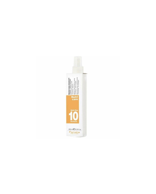 Maschera Spray Ristrutturante 10 azioni Senza Risciacquo 200 ml - Fanola Nutri Care