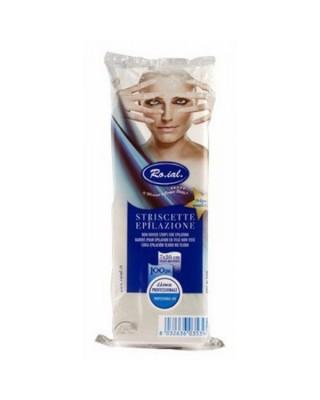 Pre-cut Hair Removal Strips TNT 7x20cm pcs.100 - Ro.ial.