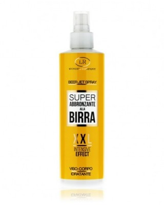 Beer Jet Spray Viso e Corpo Super Abbronzante XXL 200ml - LR Wonder Company