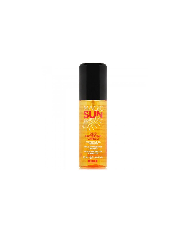 Olio Protettivo Idratante Idratante Capelli Stressati dal Sole Frutti Esotici 115ml - Magic Sun