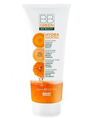 Scrub Corpo Idratante Hydra Cocktail 200ml - Rivit BB Green Bio Beauty