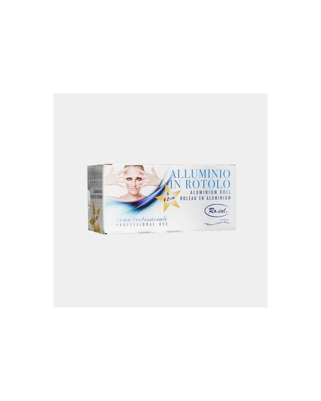 Rotolo Carta Stagnola Alluminio Parrucchiere H12cm - Ro.ial
