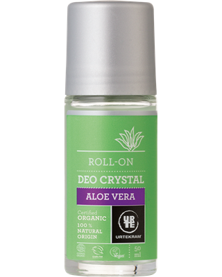 Desodorante ORGÁNICO roll-on con aloe vera 50ml - Urtekram