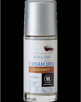 Deodorante BIOLOGICO roll-on Deo Cream al Cocco 50ml - Urtekram