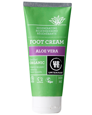 Crema Piedi all'Aloe Vera Biologica 100ml - Urtekram