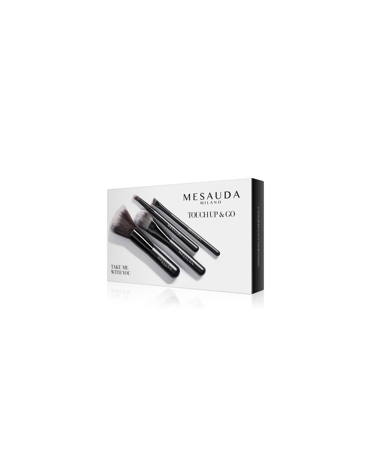 TAKE ME WITH YOU - TOUCH UP & GO Travel Kit Pennelli - Mesauda