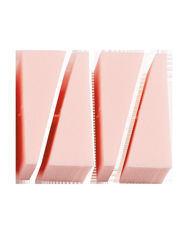 Spugnette Make Up 5,5 x 2 cm , Confezione da 4 pezzi - Peggy Sage
