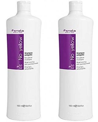 Fanola No Yellow shampooing antigiallo, 2 x 1000 ml