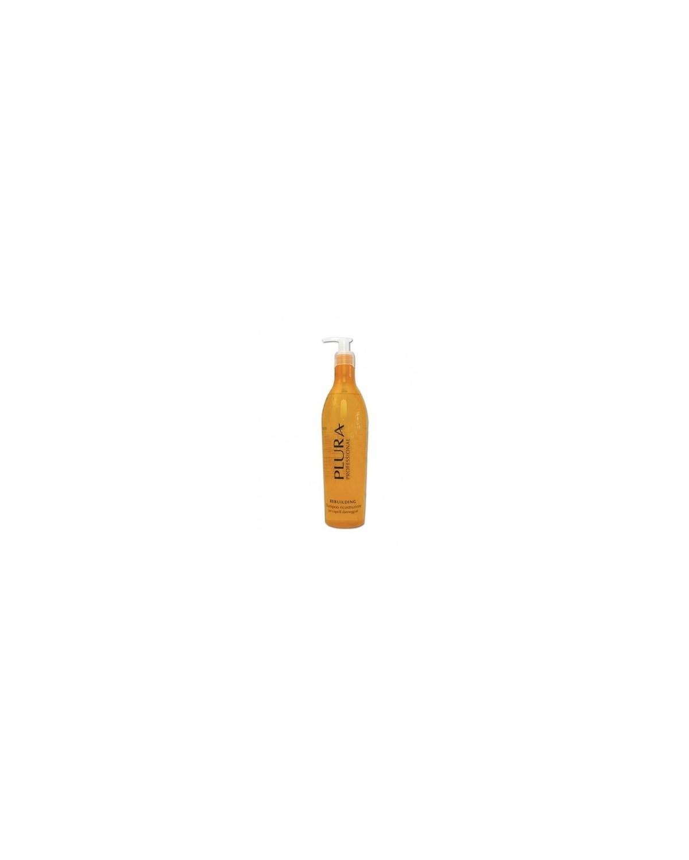 Shampoo ricostruzione per capelli danneggiati 420ml Plura
