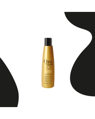 24k hair shampoo based on argan oil 300ml pure gold - Fanola Oro Therapy