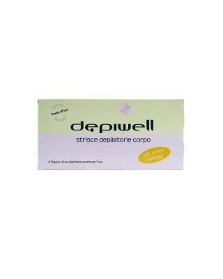Strisce depialtorie a freddo  per il corpo Depiwell 6 pz doppie