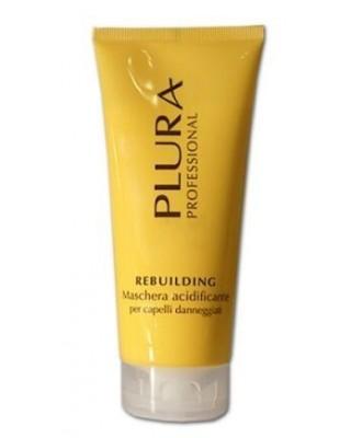 Maschera Ristrutturante Rebuilding per capelli danneggiati 200 ml - Plura Professional