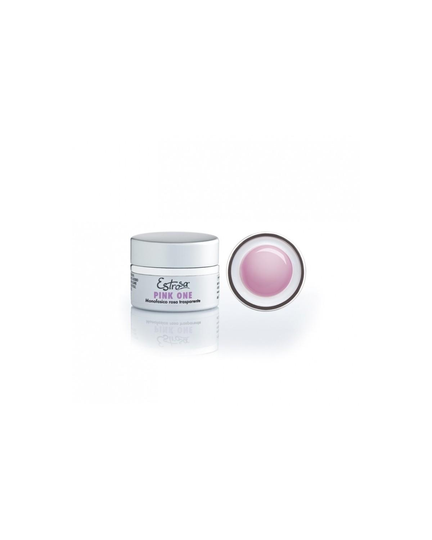 Gel Pink One Monofasico Rosa Trasparente Estrosa 15 ml cod.7220