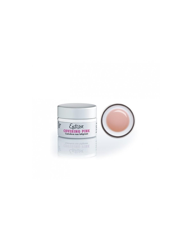Gel Covering Pink Costruttore Rosa Lattiginoso Estrosa cod.7201