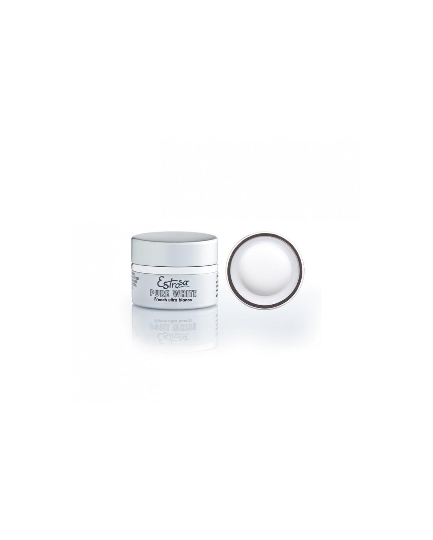 Gel Pure White French Ultra Bianco Estrosa 15 ml cod.