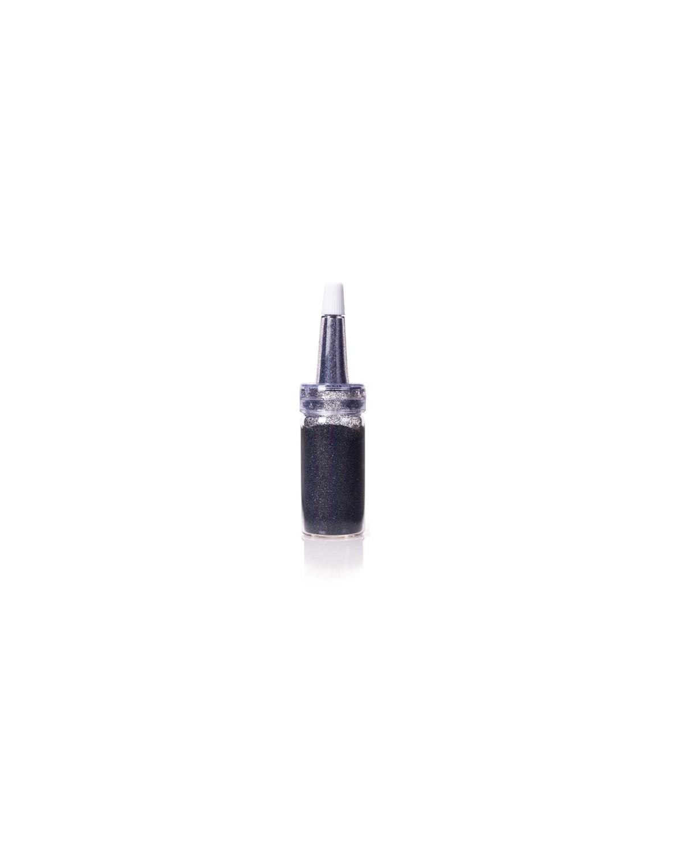 HOLOGRAPHIC DUST - POLVERE GLITTER BLACK Estrosa cod.7530