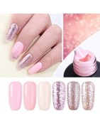 Nails builder and monophasic gel