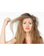 Mattes und undurchsichtiges Haar